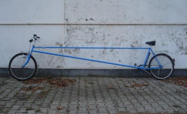 biciclete ciudate 11. Bicicleta limuzina