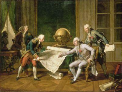 La Perouse si Ludovic al XVI-lea