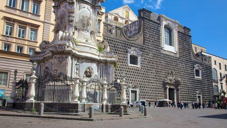 Manastirea Gesu Nuovo din Napoli
