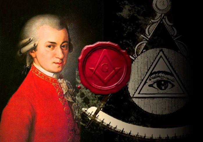 Wolfgang Amadeus Mozart - francmasonerie