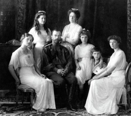 călugărul rasputin - Familia regala