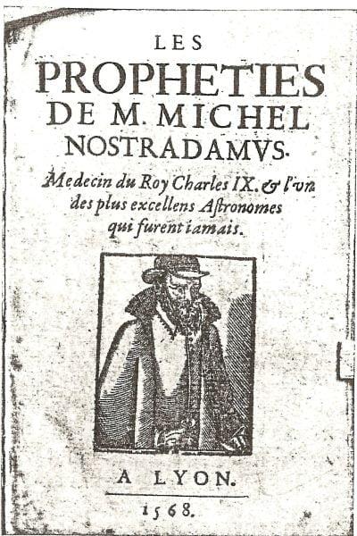 Profetii Nostradamus