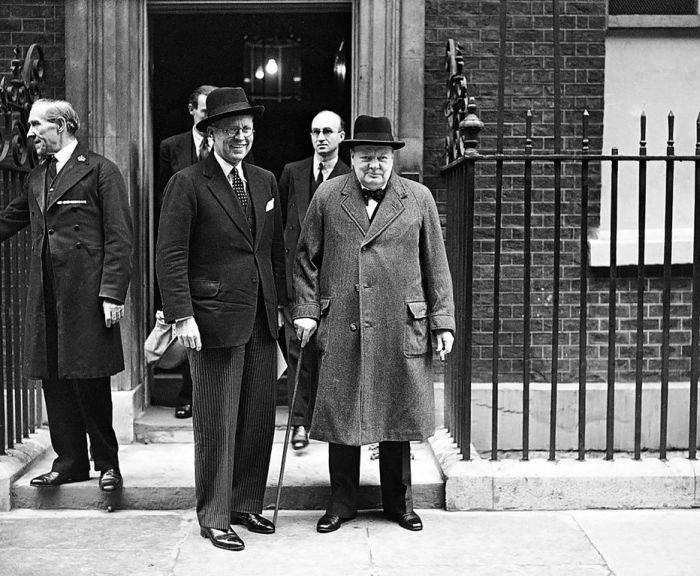 Churchill Downing Street 10
