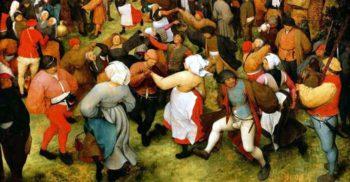 """""""Ciuma dansului"""" din 1518, cea mai bizară epidemie din istorie"""