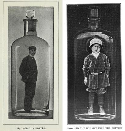 Oameni in sticla