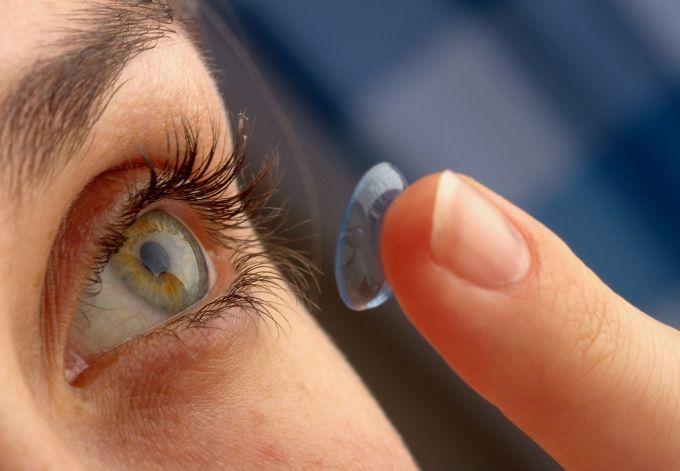 Inventii - lentile de contact
