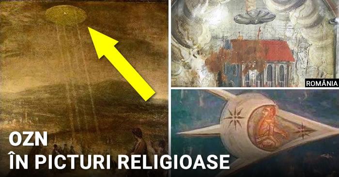 ozn-uri in picturi religioase - FEATURED