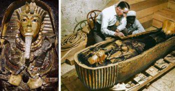13 fotografii uimitoare de la descoperirea mormântului lui Tutankhamon