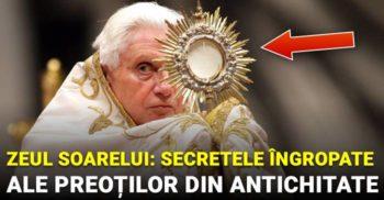 Zeul Soarelui și secretele îngropate ale preoților din antichitate
