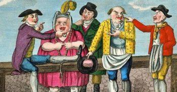 Pentru a scăpa de neveste, englezii le vindeau la târg, ca pe animale
