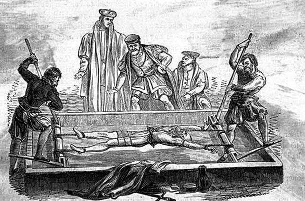 11. pedepse medievale - metode de tortura - tortura cu patul