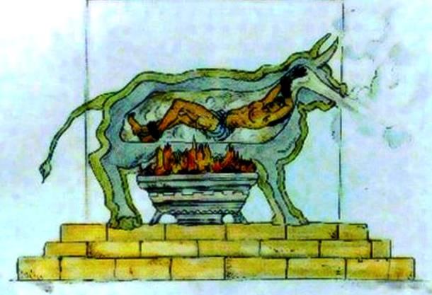 2. pedepse medievale - metode de tortura - taurul de bronz