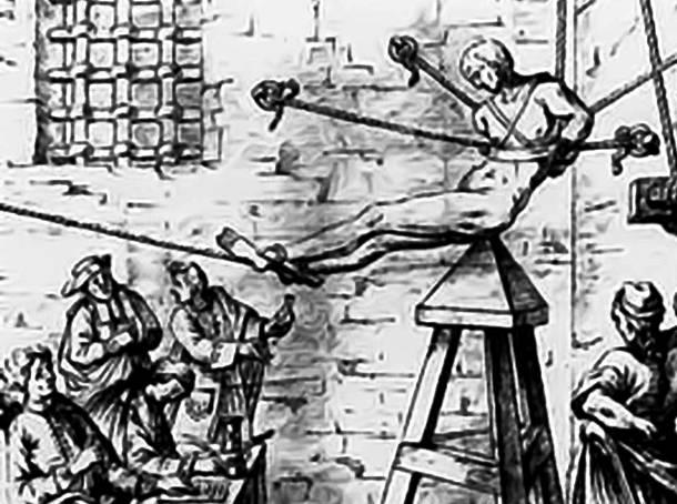 6. pedepse medievale - metode de tortura - leaganul lui iuda