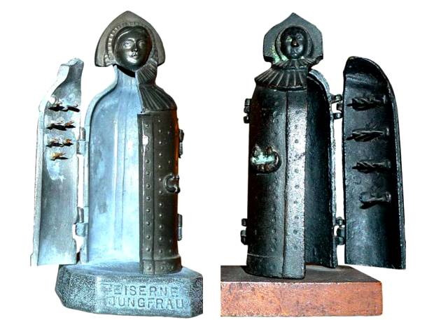 8. pedepse medievale - metode de tortura - fecioara de fier