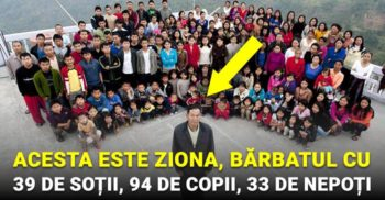 Acesta este Ziona, bărbatul cu 39 de soții, 94 de copii și 33 de nepoți FACEBOOK_compressed