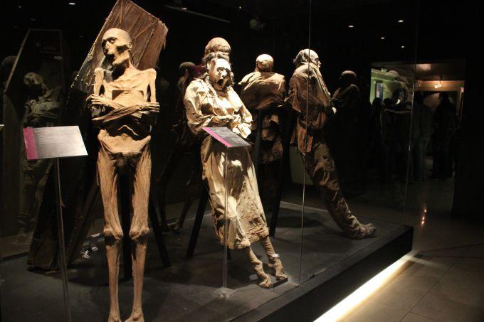 Cele mai ciudate muzee din lume - Muzeul mumiilor