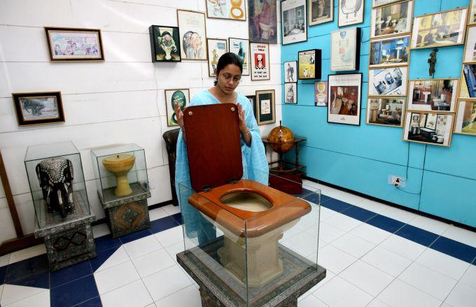 Cele mai ciudate muzee din lume - Muzeul toaletelor