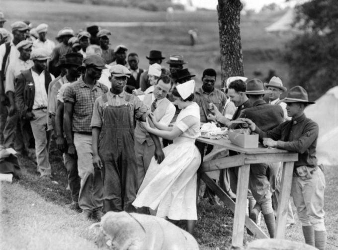 Experimente pe oameni - Tuskegee