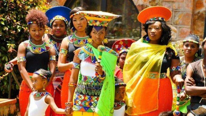 Obiceiuri de nunta - Africa de Sud