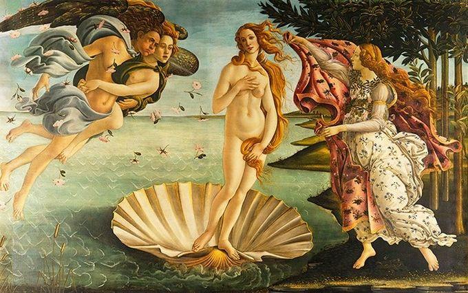 Opere de arta - Nasterea lui Venus 1