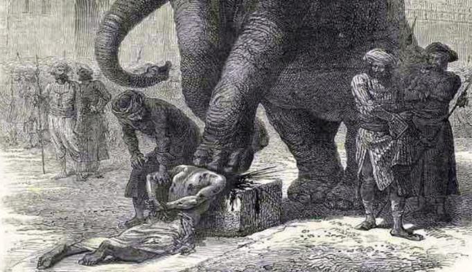 Pedeapsa cu moartea - Elefanti 1