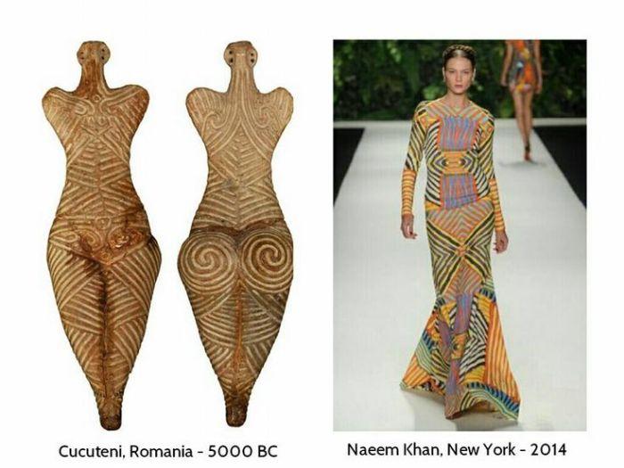 civilizatia cucuteni - moda