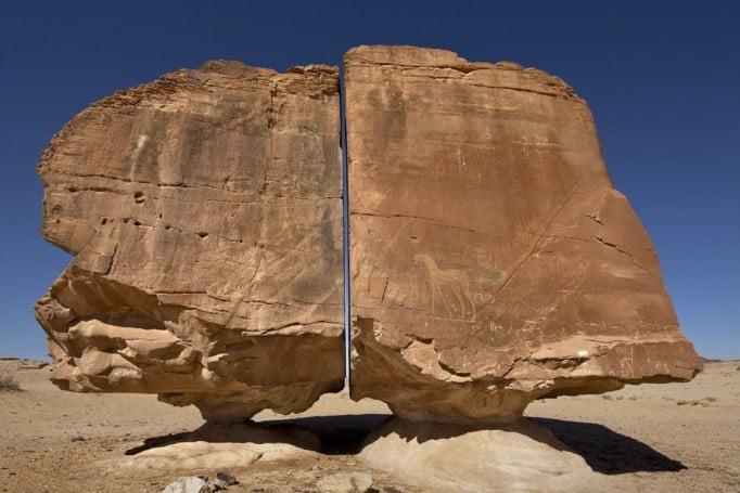 megalitul Al Naslaa - Piatra