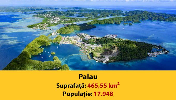 Cele mai mici tari din lume - Palau