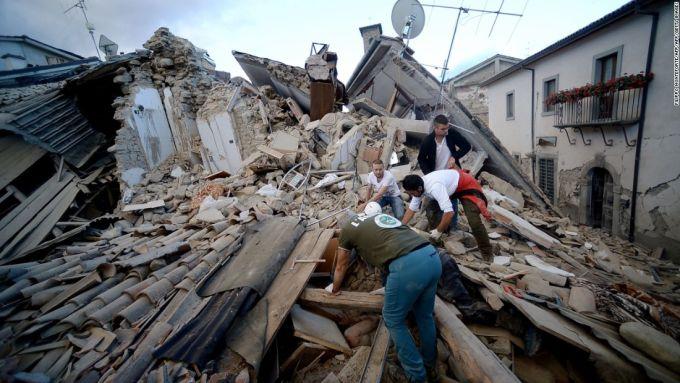 Comportamente inexplicabile - Cutremur