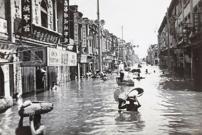 Evenimente tragice - Inundatii China
