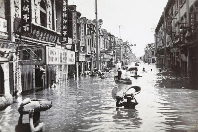 Evenimente tragice - Inundatii China
