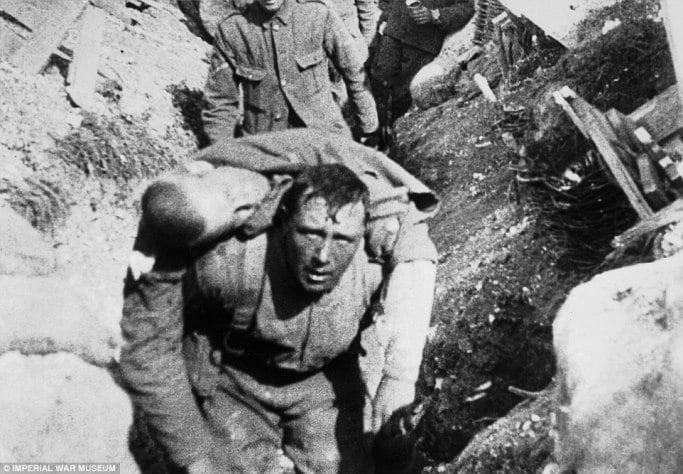Evenimente tragice - Primul Razboi Mondial