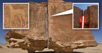 """Megalitul Al Naslaa - """"Glumă de piatră"""" sau dovada unei civilizații avansate FEATURED_compressed"""