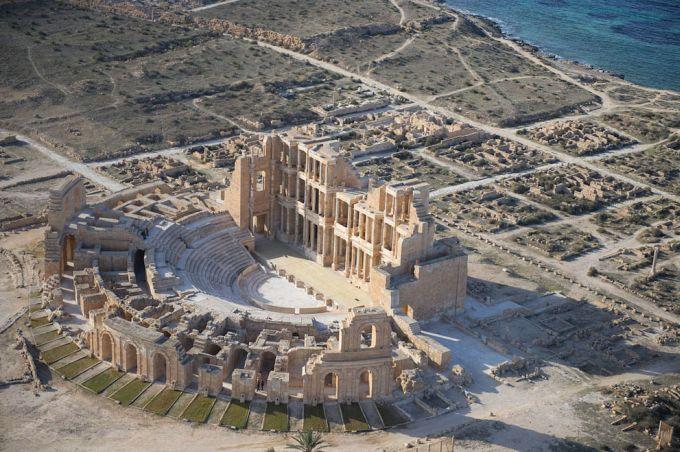 Orase disparute - Leptis Magna