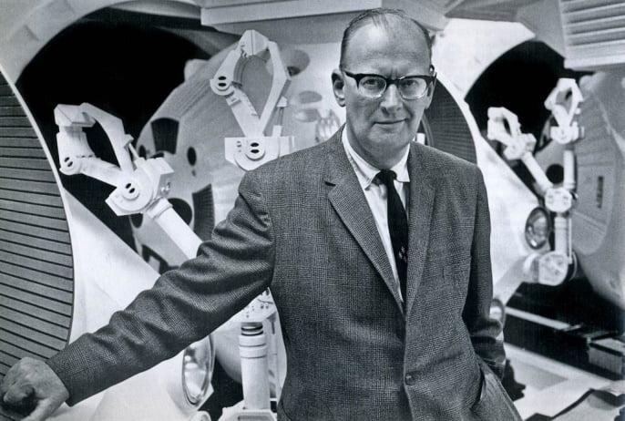 Scriitori celebri - Arthur C Clarke
