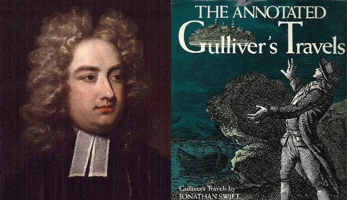 Scriitori celebri - Jonathan Swift