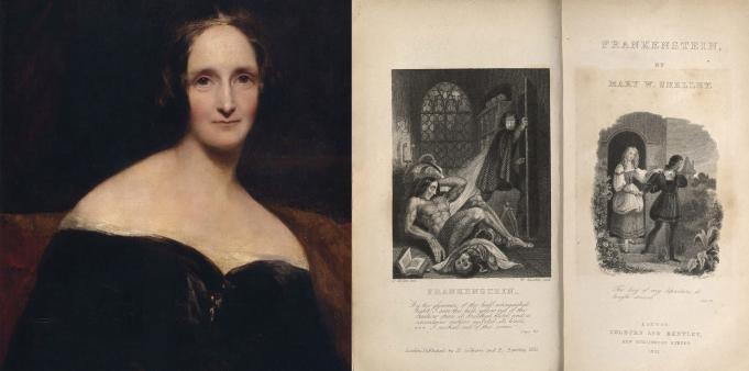 Scriitori celebri - May Shelley