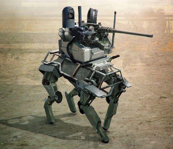 arme animale robotice