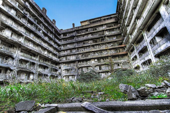 Locuri abandonate - Gunkanjima