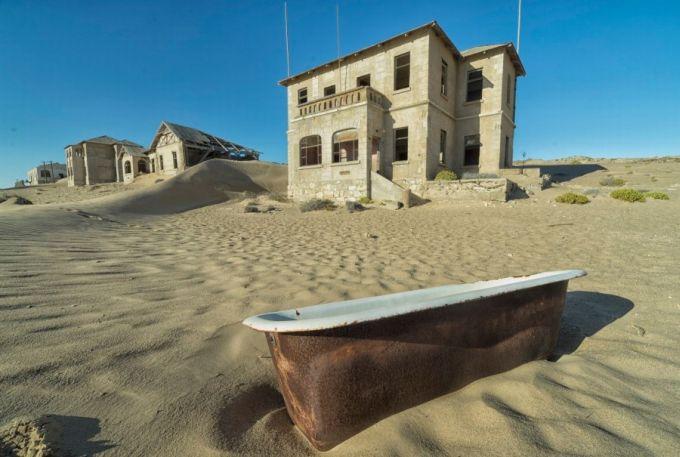 Locuri abandonate - Kolmanskop 2
