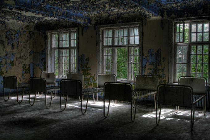 Locuri abandonate - Spitalul psihiatric
