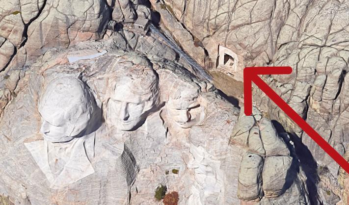 Locuri secrete - Muntele Rushmore