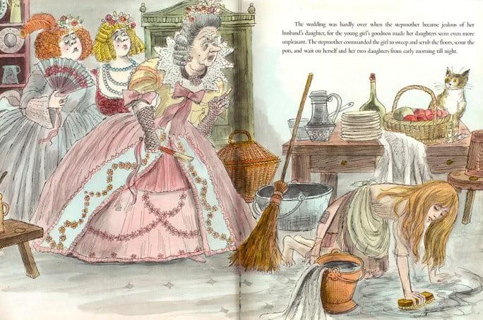 Povesti pentru copii - Cenusareasa