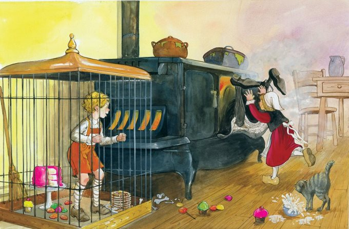 Povesti pentru copii - Hansel si Gretel