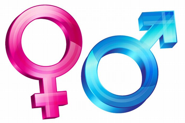 Simboluri - Barbat - femeie