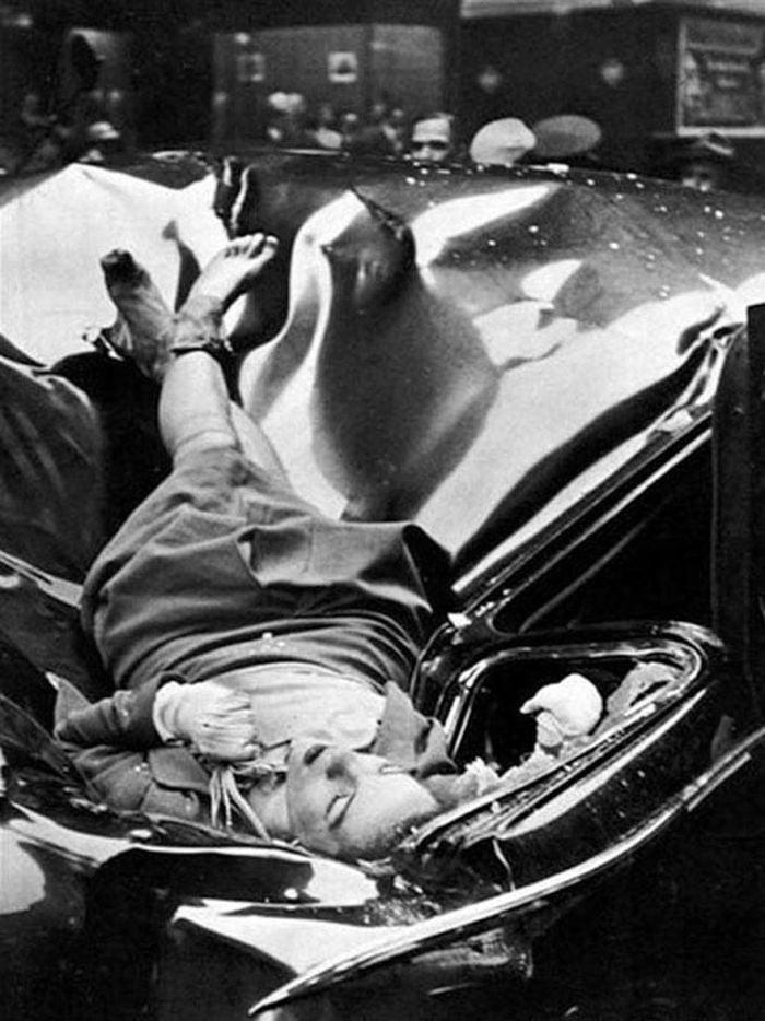 fotografii istorice - sinuciderea