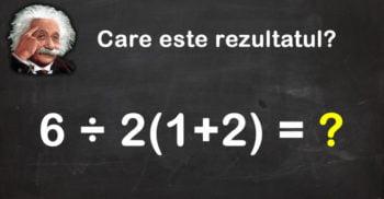 O problemă de matematică dă mari bătăi de cap. O poți rezolva?