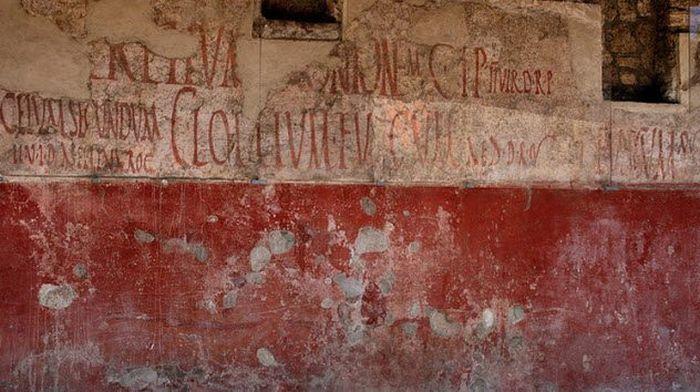 reclame vechi - politica din pompei