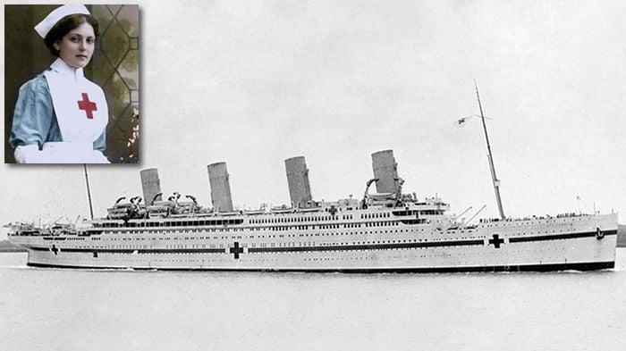 HMHS Britannic - scufundare