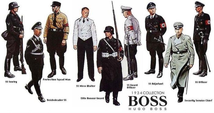 Regimul nazist - Hugo Boss